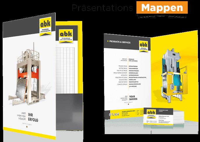 printdesign praesentationsmappe